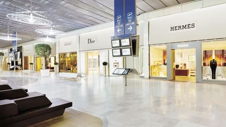 Les boutiques d'aéroports, nouvel eldorado des griffes de luxe - Le Figaro | Agence Pernet | Scoop.it