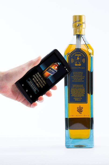 Une bouteille de whisky connectée présentée au Mobile World Congress | geeko | la NFC, ça vous gagne | Scoop.it