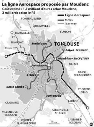 Une troisième ligne de métro : est-ce vraiment réaliste ? | Habiter-Toulouse.fr | Scoop.it