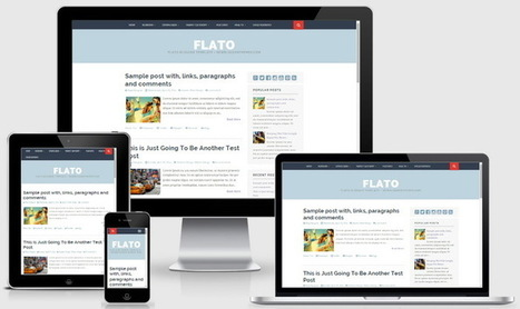 Flato Blogger Template | Blogger themes | Scoop.it