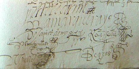 MODES de VIE aux 16e, 17e siècles » Archive du blog » Bail à ferme de la Prouverie engagée par Pierre Le Cornu, Craon 1587 | blog de Jobris | Scoop.it