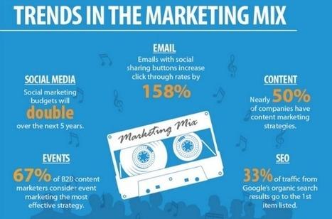 20 Marketing Statistics That Will Drive 2014 [INFOGRAPHIC] | digital marketing strategy | Scoop.it