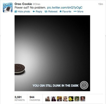 Eight great examples of agile marketing from Oreo | Social Media Marketing | Scoop.it