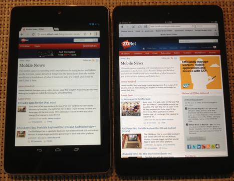 iPad mini and Nexus 7 go head-to-head | ZDNet | Current Updates | Scoop.it