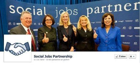 Facebook lance The social jobs partnership, son site d'offres d'emploi | CommunityManagementActus | Scoop.it