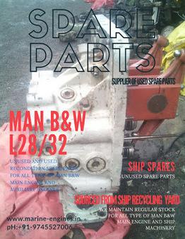 MAN B&W L28/32 Spare Parts | Marine Engines Motors and generators | Scoop.it