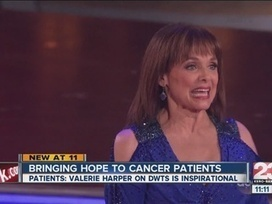 Cancer patients say Valerie Harper on 'Dancing With The Stars' is an inspiration - KERO-TV 23 | Healthcare Social Media via @HCSMMarketing | Scoop.it