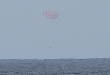 SpaceX's CRS-9 Dragon returns to Earth   The NewSpace Daily   Scoop.it