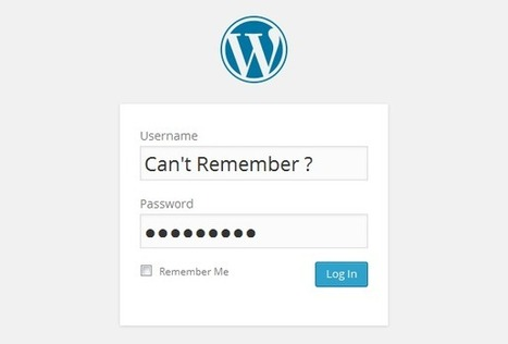 Top 5 Wordpress Login Questions And How To Resolve Them | coolwebworks | Scoop.it