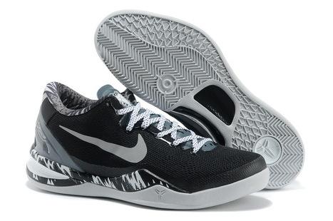 Nike Kobe 8 System Pp Philippines Black Metallic Silver Grey for Sale Online | Basketball | Scoop.it