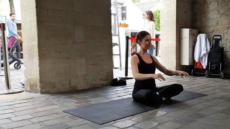 Du Hatha Yoga en plein air à Bercy Village avec Claire Gautier - Carnets de Week-Ends | Paris Culture | Scoop.it