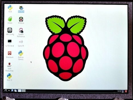 Portable screen for Raspberry Pi smashes Kickstarter target in days | ITProPortal.com | Raspberry Pi | Scoop.it