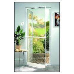 Single Door of Aluminium Frame with Mosquito mesh | Mosquito Screens Hyderabad | Scoop.it