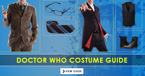 The Best DIY Costume Guide To Look Like The Doctors of Doctor Who | celebrities suits | Scoop.it
