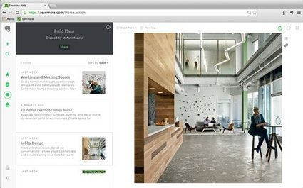 Evernote fait peau neuve et introduit une messagerie instantanée | Outils-Gestion-Management-de-Projet | Scoop.it