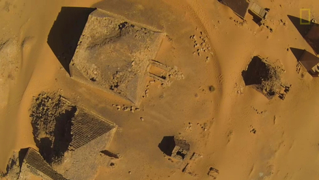 Amazing Drone Footage of Nubian Pyramids | Egyptology and Archaeology | Scoop.it
