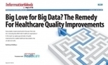 Big Love for Big Data? The Remedy for Healthcare Quality Improvements - InformationWeek Reports | Analytics | Scoop.it