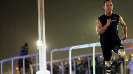 El atleta paralímpico Oscar Pistorius bate a un caballo pura sangre en una exhibición | One more thing | Scoop.it