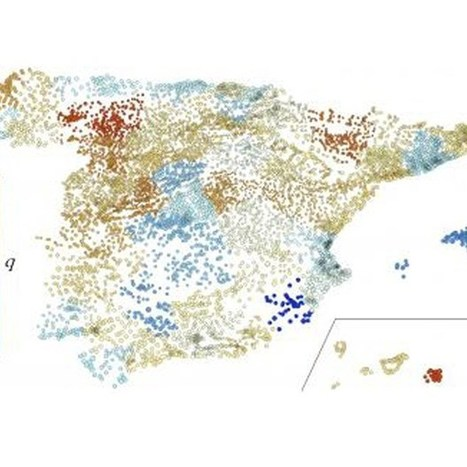 Study: Spanish populations reflect laws of 'social' thermodynamics (Wired UK) | Ciencia-Física | Scoop.it