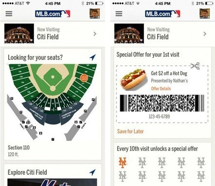 MLB to use iOS 7's iBeacon for pointing out sights (and seats) in stadiums | Sports Facility Management | Scoop.it