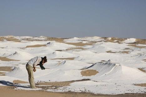The White Desert - Egypt   Blue sky travel   Scoop.it