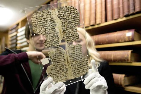 Les papyrus de Bâle reviennent à la vie | Merveilles - Marvels | Scoop.it