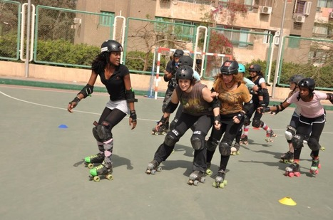 Cairollers bring roller derby to Egypt | Égypt-actus | Scoop.it
