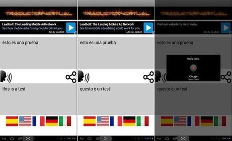 TraductorVirtual: app Android gratuita que traduce conversaciones en vivo | Recursos TIC para la enseñanza y el aprendizaje | Scoop.it