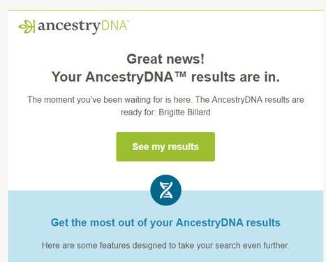 Retrouver des cousins grâce à AncestryDNA | GenealoNet | Scoop.it
