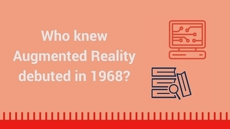 Infographic: The History of Augmented Reality - Augment News | Augmented Reality Games in Tourism | Scoop.it