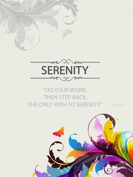 Create More Serenity With These 6 Tips | Unplug | Scoop.it