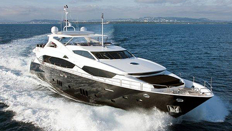 Price reduction on Sunseeker 34m Black & White | Luxury Life Styles | Scoop.it
