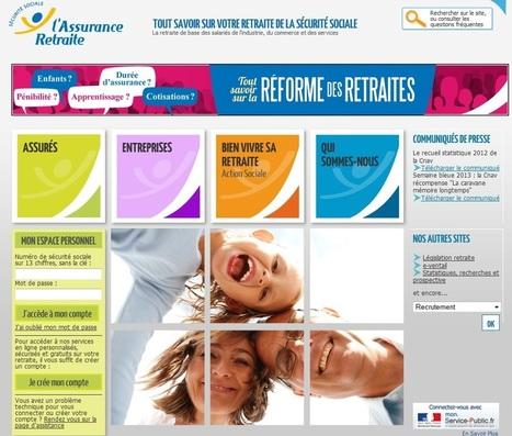 www.retraite.cnav.fr : Explications Services, Relevés Carrière...   Aide démarches et infos urssaf, impot, gouv...   Scoop.it