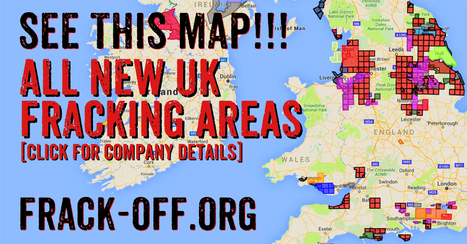 Interactive Map of UK Fracking Threat | 100%ANTIFRACKING | Scoop.it