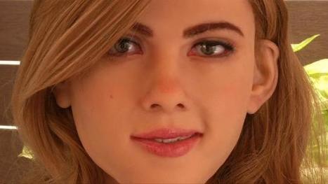 Un robot qui ressemble à Scarlett Johansson | Une nouvelle civilisation de Robots | Scoop.it