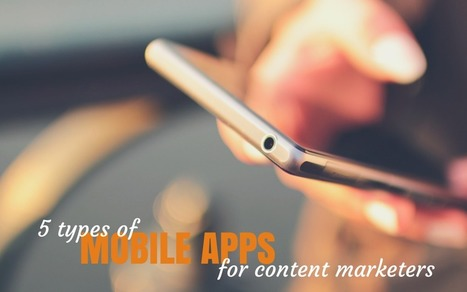 5 Kinds Of Mobile Apps For Every Productive Content Marketer | Content Creation, Curation, Management | Scoop.it