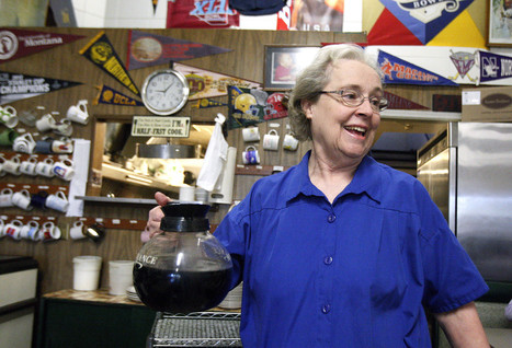 Still going strong: Montrose waitress slings coffee and good cheer for 44 years - Glendale News Press   Time for a cuppa   Scoop.it
