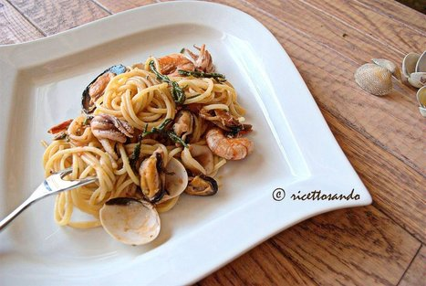 Ricettosando - ricette di cucina e chiacchiere: Spaghetti allo scoglio | Ricettosando | Scoop.it