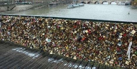 Los candados del amor en los puentes de París, a debate | FMR Consulting News | Scoop.it
