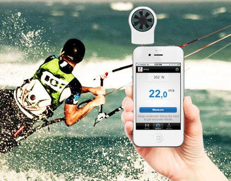Le Shaka, l'accessoire iPhone indispensable aux kitesurfers, funboarders et autres geeks dans le vent | Un Geek à Paris | Scoop.it