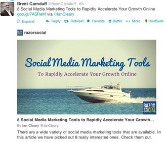 Social Media Marketing World: 17 Super Tools to Optimize Social Media | Content marketing | Scoop.it