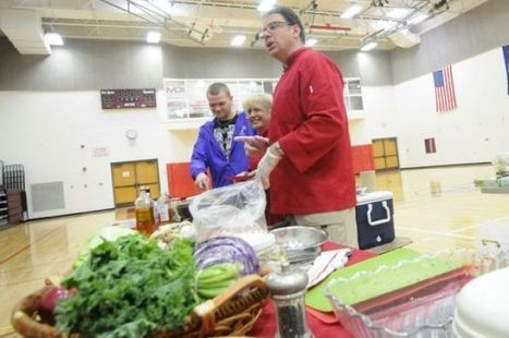 Behold 'The Power of Food!': Nutritionist helps Port Byron students hone ... - Auburn Citizen   All About Health & Beauty   Scoop.it