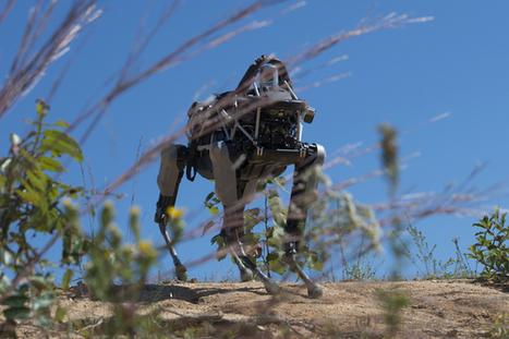 Marines test Google's latest military robot | LibertyE Global Renaissance | Scoop.it