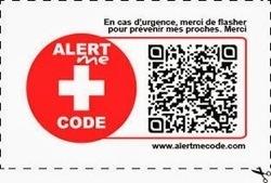 LYon-Actualités.fr: Nouveau : un QR code pour prévenir vos proches en cas d'urgence   Actua web marketing   Scoop.it