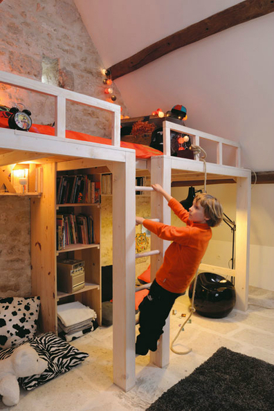 Attic bedroom design ideas for child   Home Decorating Ideas   news new news   Scoop.it