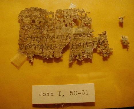 eBay : un papyrus de l'Apocalypse sauvé des enchères | Clic France | Scoop.it
