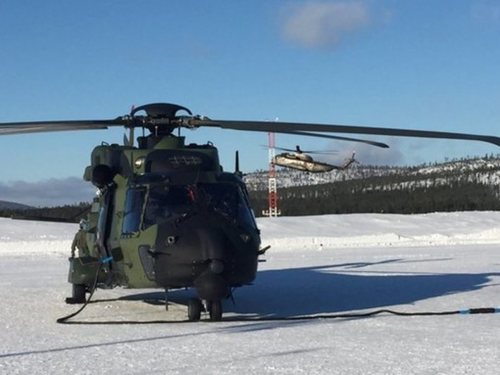 COLD BLADE 2016 - NH90 - Utti Jaeger Regiment -Ivalo, Finland | NHIndustries - NH90 | Scoop.it