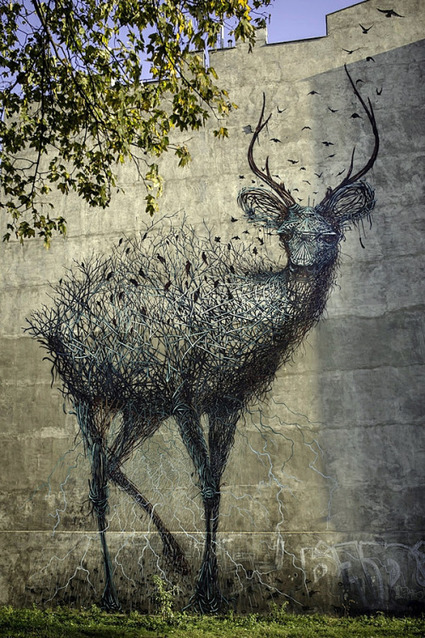 Street Artist: Chinese-born DALeast | PEDRO LUQUE | Scoop.it