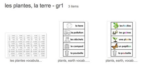 Madame Belle Feuille: Les plantes et le jour de la terre - Plants and earth day | French Language | Scoop.it