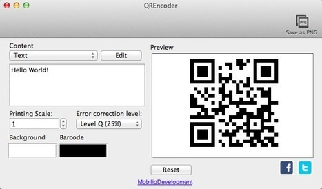 Getting the Most Out of QR Codes Using URI Schemes   Using QR Codes in Libraries   Scoop.it
